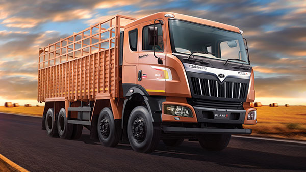 Mahindra's Blazo Range Of Trucks Become Market Leaders In Trucking Industry