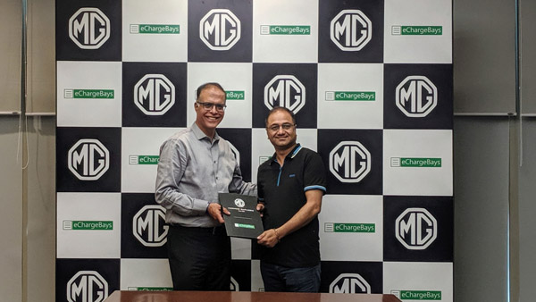 MG Motor & eChargeBays Collaborates To Provide Home Charging Infrastructure