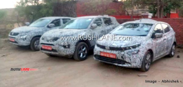 Spy Pics: Tata Altorz, Harrier & Buzzard BS-VI Models Spied Testing In India Ahead Of Its Launch Next Year