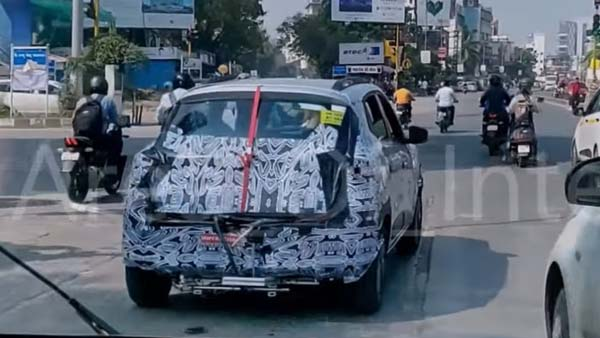 Renault Kwid Facelift BS-VI Spotted Testing Ahead Of India Launch: Spy Pics & Video
