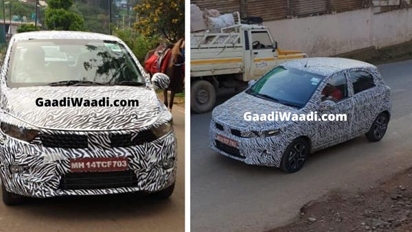 Spy Pics: Tata Tiago Facelift Spotted Testing Ahead Of Next Year Launch, Features Larger Grille