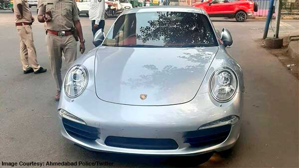 Porsche 911 Owner Fined Rs 9.8 Lakh By Ahmedabad Traffic Police: Here's Why!