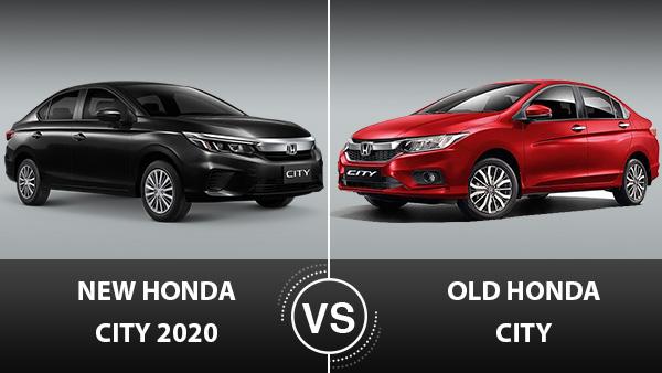 Honda City 2020 Vs Old Honda City Major Differences On Design