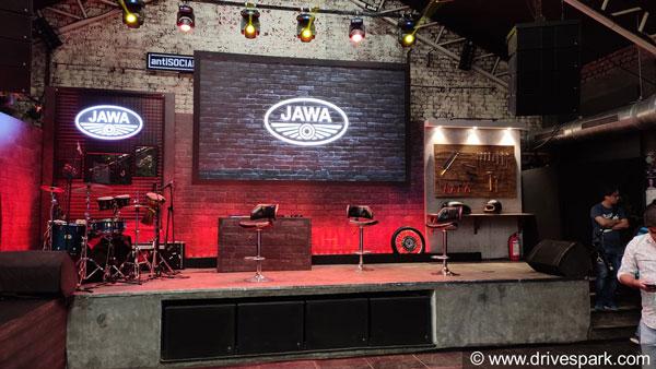 Jawa Perak Launch