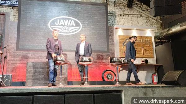 Jawa Perak Live Launch