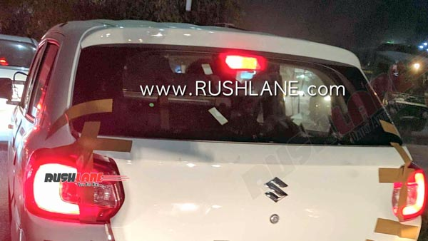 Maruti Suzuki S-Presso CNG Spied Testing Ahead Of Launch: Spy Pics & Details