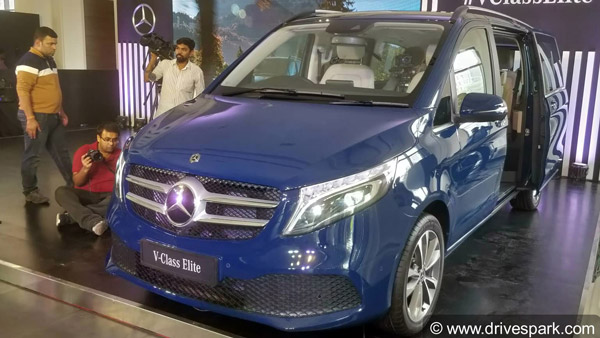 Mercedes-Benz V-Class Elite Launched In India At Rs 1.10 Crore: Specs, Features & Other Details