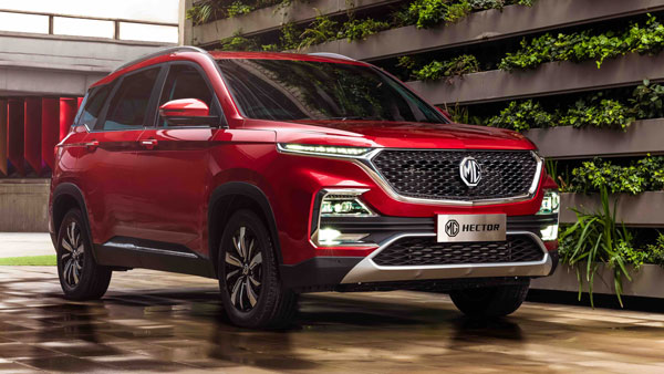 MG Hector Registers 3,536 Units Of Sales In October 2019