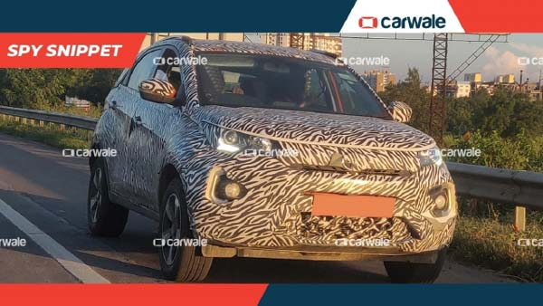 Spy Pics: Tata Nexon Facelift To Feature New Fog Lamp Clusters