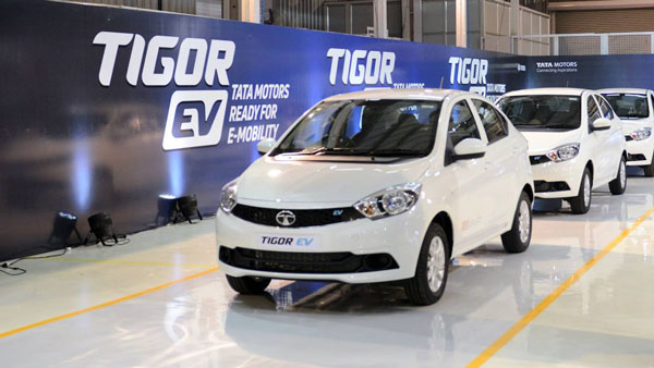 Tata Motors Deploy Tigor EVs At Tata Steel Plant In Jamshedpur