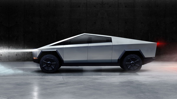 Tesla Cybertruck Unveiled: The Futuristic All-Electric Pick-Up Truck With 800Km Of Range