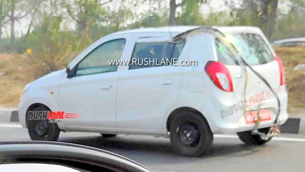 Spy Pics: Maruti Alto 800 BS6 Spotted Testing Even After Launch