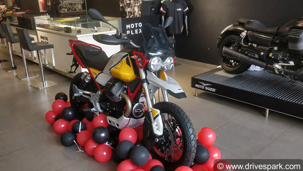Moto Guzzi V85 TT Adventure Motorcycle: First Bike Delivered In India