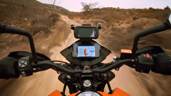 KTM 390 Adventure Exhaust Note In New TVC Video