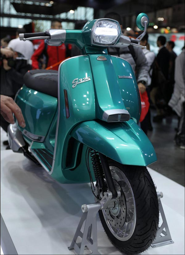Lambretta G-325 Scooter Unveiled At EICMA 2019: Lambretta To Return To India With G-Special Electric Scooter Debut At 2020 Auto Expo