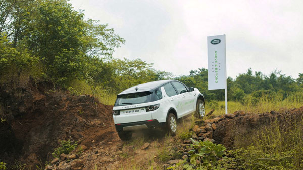 Land Rover's 'The Above & Beyond Tour' Held In Bangalore: The Off-Road Experience Drive Event