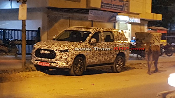 Spy Pics: MG D90 Spotted Testing Ahead Of India Launch