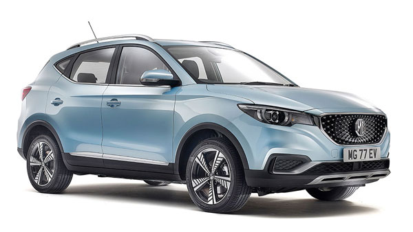 MG Aims At Selling Up To 3,000 Units Of The All-Electric ZS SUV In India