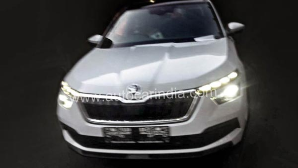 Spy Pics: Skoda Kamiq Spotted In India Ahead Of Debut At 2020 Auto Expo