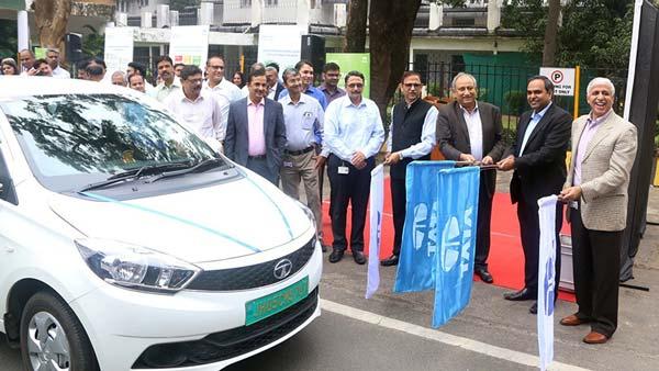 Tata Motors Deploy Tigor EVs At Tata Steel Plant In Jamshedpur