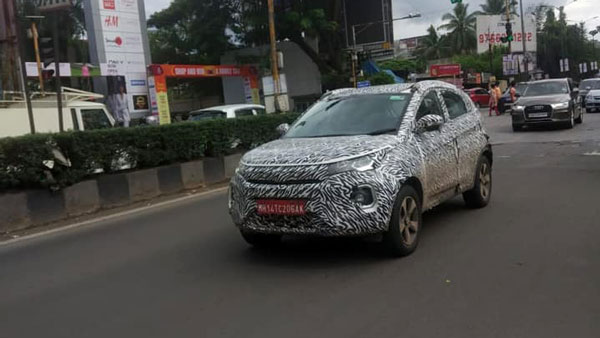 Tata Nexon Facelift Spotted Testing Ahead Of India Launch: Spy Pics & Details