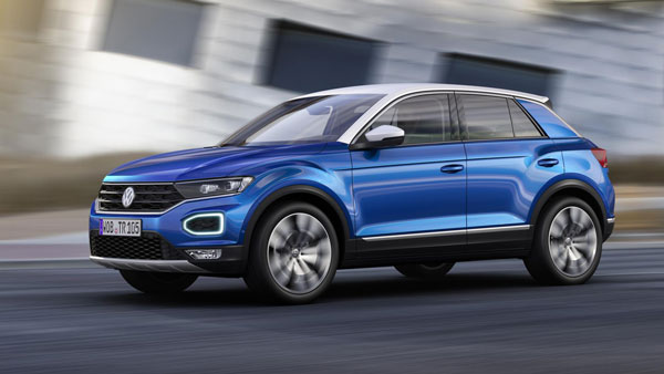 Volkswagen T-Roc Spotted Testing In India For The First Time Ahead Of Launch: Spy Pics & Details
