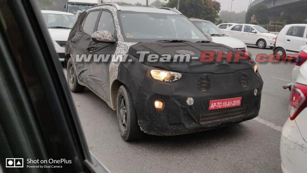Spy Pics: Kia QYI Spotted Testing Again Ahead Of India Debut