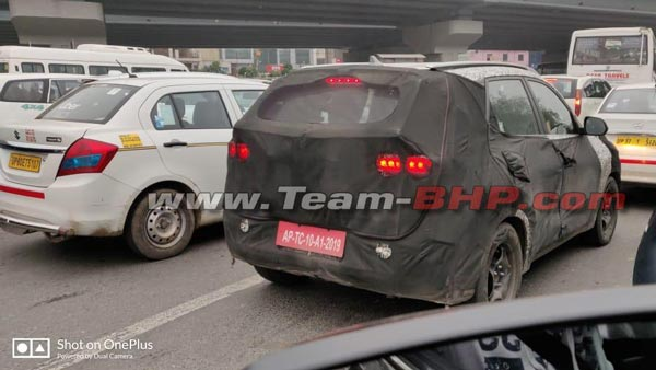 Spy Pics: Kia QYI Spotted Testing Again Ahead Of India Debut2