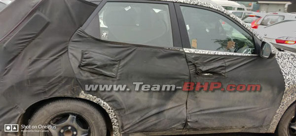 Spy Pics: Kia QYI Spotted Testing Again Ahead Of India Debut1