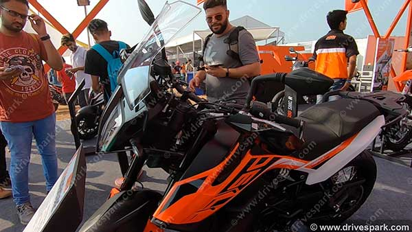 KTM 790 Adventure Showcased At India Bike Week 2019: Features, Specs & Details