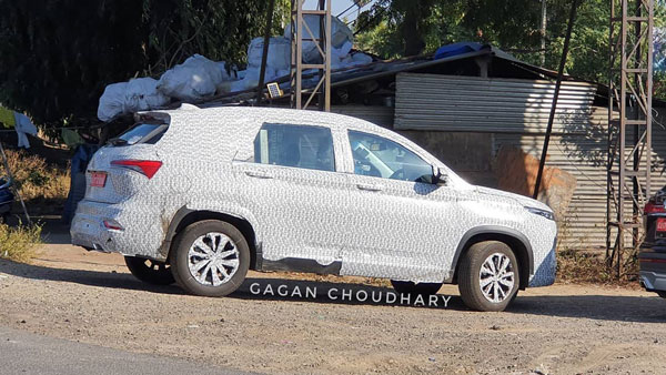 Spy Pics: MG Hector Plus Spotted Testing Again Ahead Of India Launch
