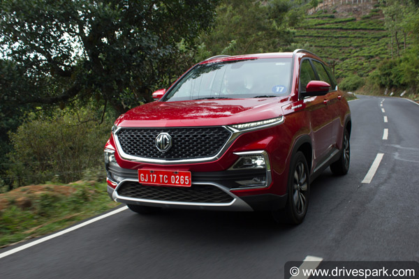 MG Hector Plus Third Row Seating SUV Variant Name Registered: Will Rival The Upcoming Tata Gravitas