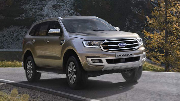 Spy Pics: 2020 Ford Endeavour Spotted Testing Ahead Of India Launch