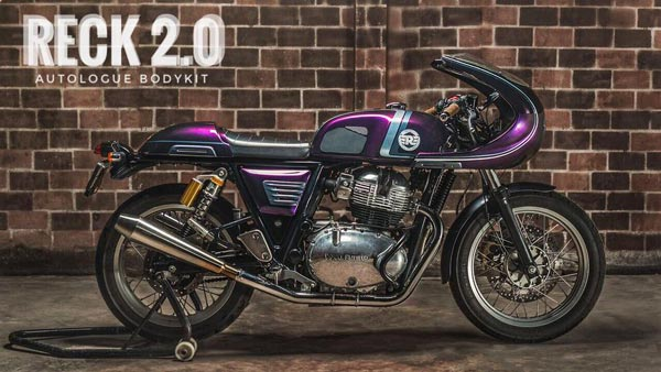 Royal Enfield Continental GT 650 Reck 2 Body Kit Designed By Autologue Design