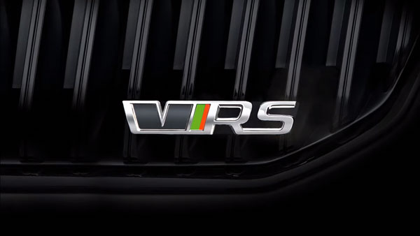 Skoda Octavia VRS 245 Official Teaser Released: Launching In India Next Year