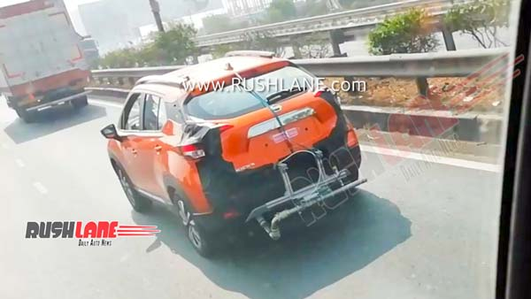 Spy Pics: Nissan Kicks BS6 Variant Spotted Testing In Pune
