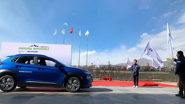 Hyundai Kona To Become First Electric Vehicle To Reach Mt. Everest's North Base Camp