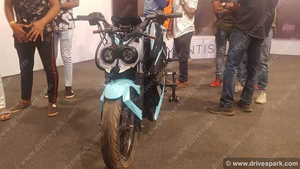 Orxa Mantis Electric Performance Motorcycle Revealed At India Bike Week 2019