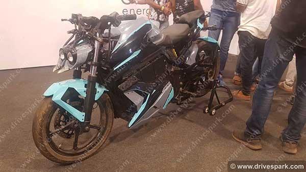 Orxa Mantis Electric Performance Motorcycle Revealed At India Bike Week 2019