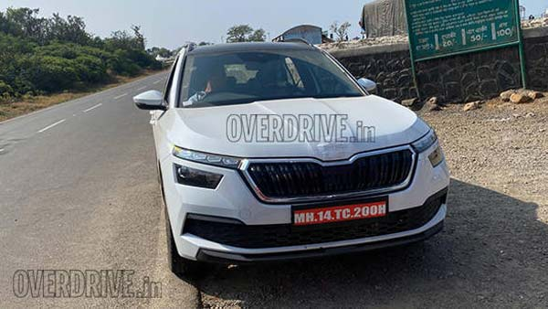 Spy Pics: Skoda Kamiq Spotted Testing Ahead Of India Launch