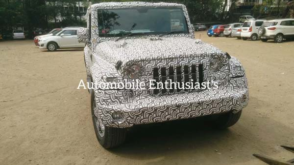 Spy Pics: 2020 Mahindra Thar Spotted Testing Again Ahead Of India Launch