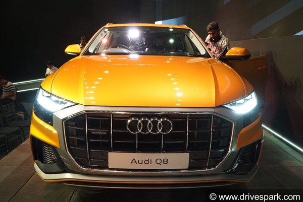 Audi Q8 Launched In India At Rs 1.33 Crore: Specs, Features, Deliveries, Bookings & Other Details