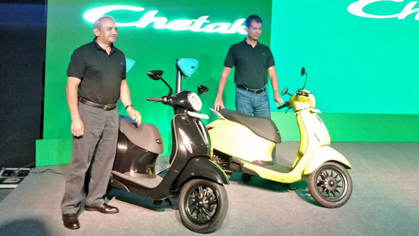 Bajaj Chetak Electric Scooter Bookings & Deliveries