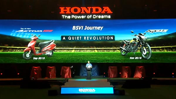 Honda Motorcycles & Scooters India