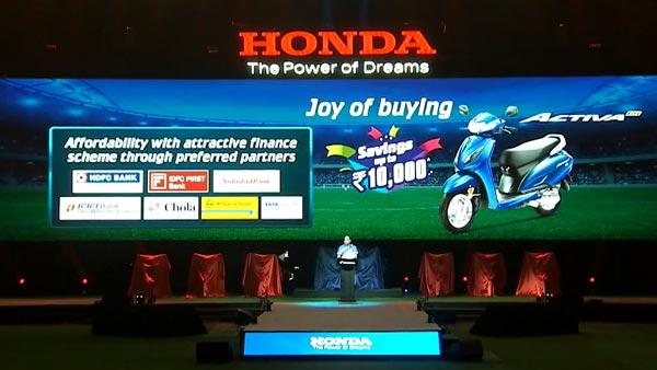 Honda Activa 6G Finance Options