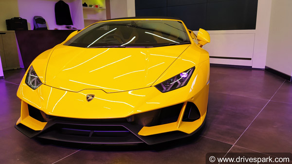 Lamborghini Inaugurates New Dealership At Bangalore: Showcases Huracan Evo Spyder At Opening