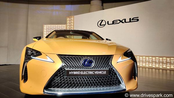 Lexus LC500h Launched In India At Rs 1.96 Crore: Details And Features