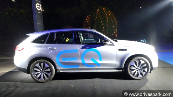 Mercedes-Benz Electric Sub-Brand 'EQ' Launched In India: Unveils All-Electric EQC SUV Ahead Of Launch In April 2020