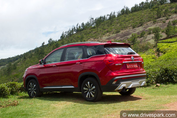 MG Hector Sales In India For December 2019: Registers 3,021 Units Of Sales