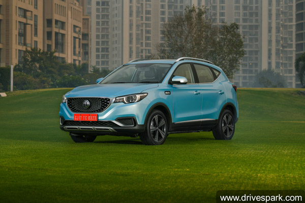 MG ZS Electric SUV Registers 2,800 Units In Bookings Within 27 Days Of Unveil